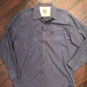 Timberland men's button up collared shirt large